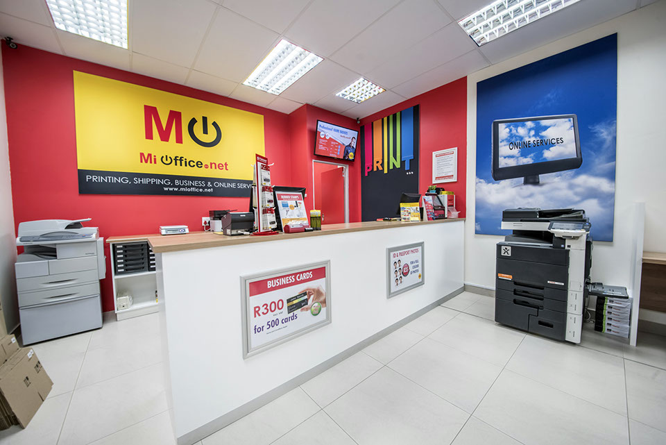 mi office printing shipping business and online services