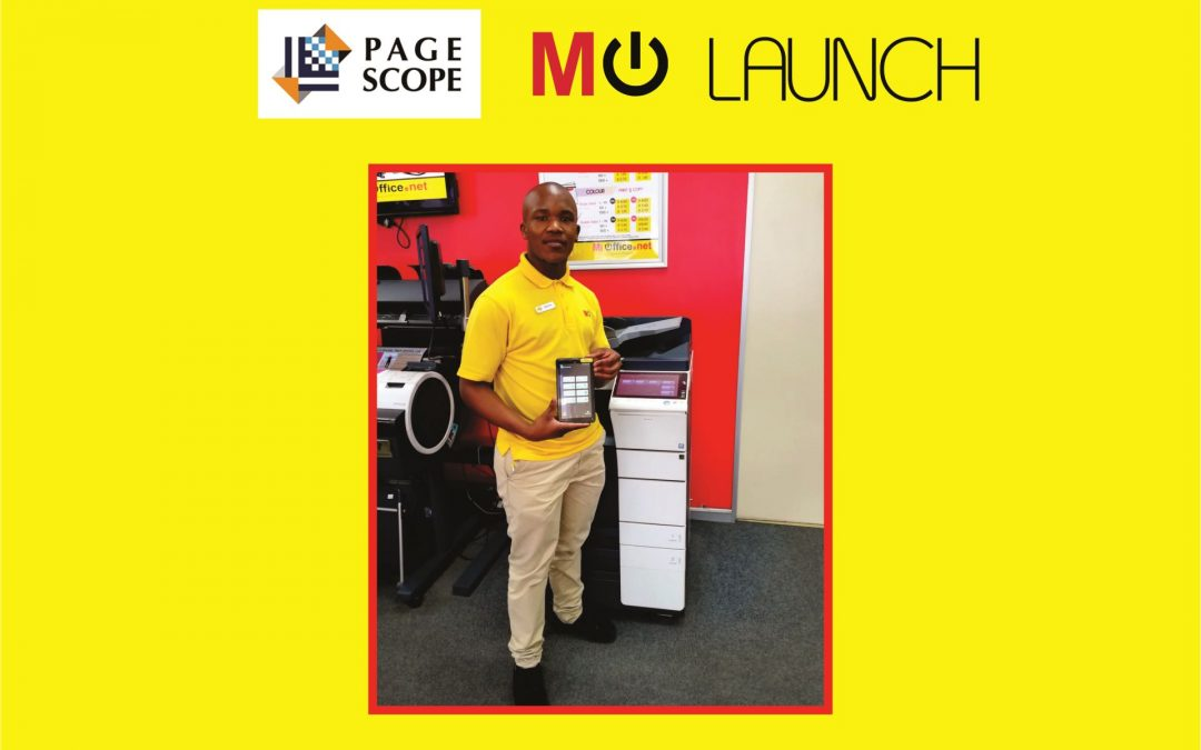 Launch of Pagescope Application